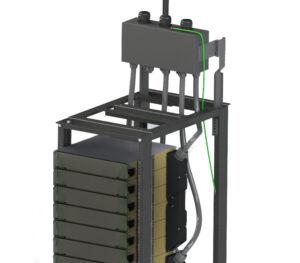Rack Mount UHFC Cable Transition Module