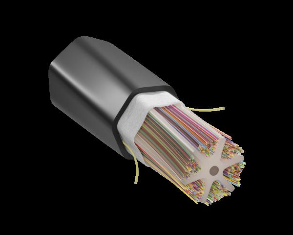 Freeform Ribbon™ OSP Slotted Core Ribbon - 1728F Optical Fiber Cable