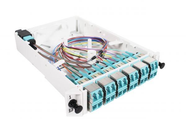 Fiber Optic eXchange (FOX) Cassette